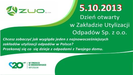 Dzień Otwarty W ZUO Sp. Z O.o.