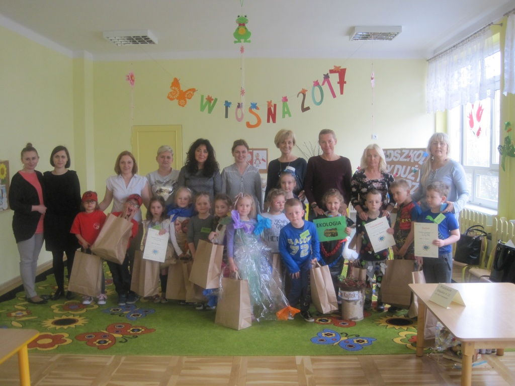 Przedszkolak Mały I Duży Przyrodzie Służy