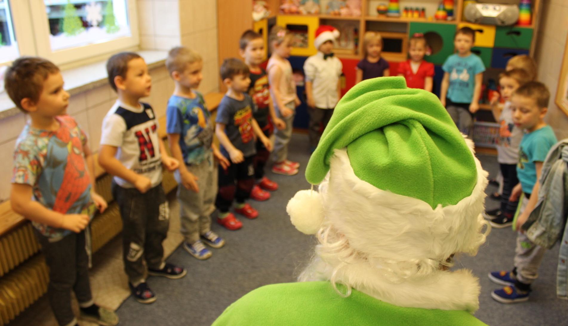 Dzień Z Zielonym Mikołajem