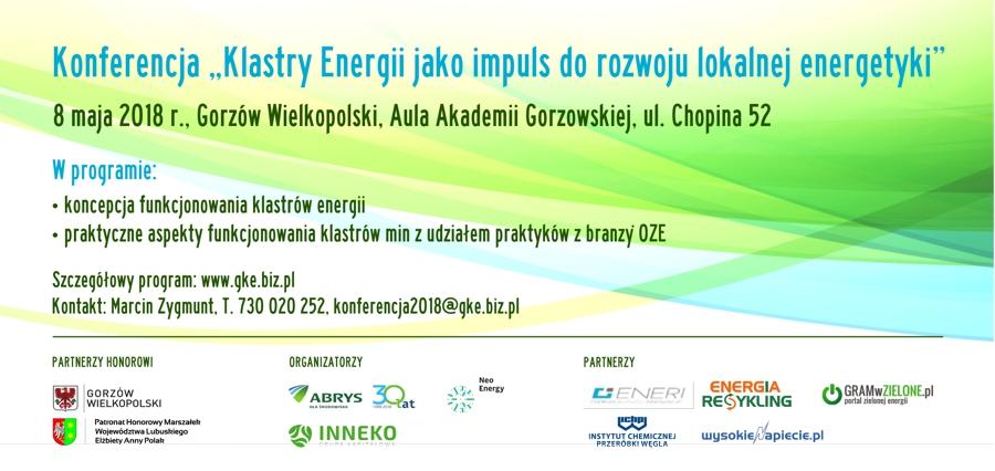 """Konferencja """"Klastry Energii Jako Impuls Do Rozwoju Lokalnej Energetyki"""""""