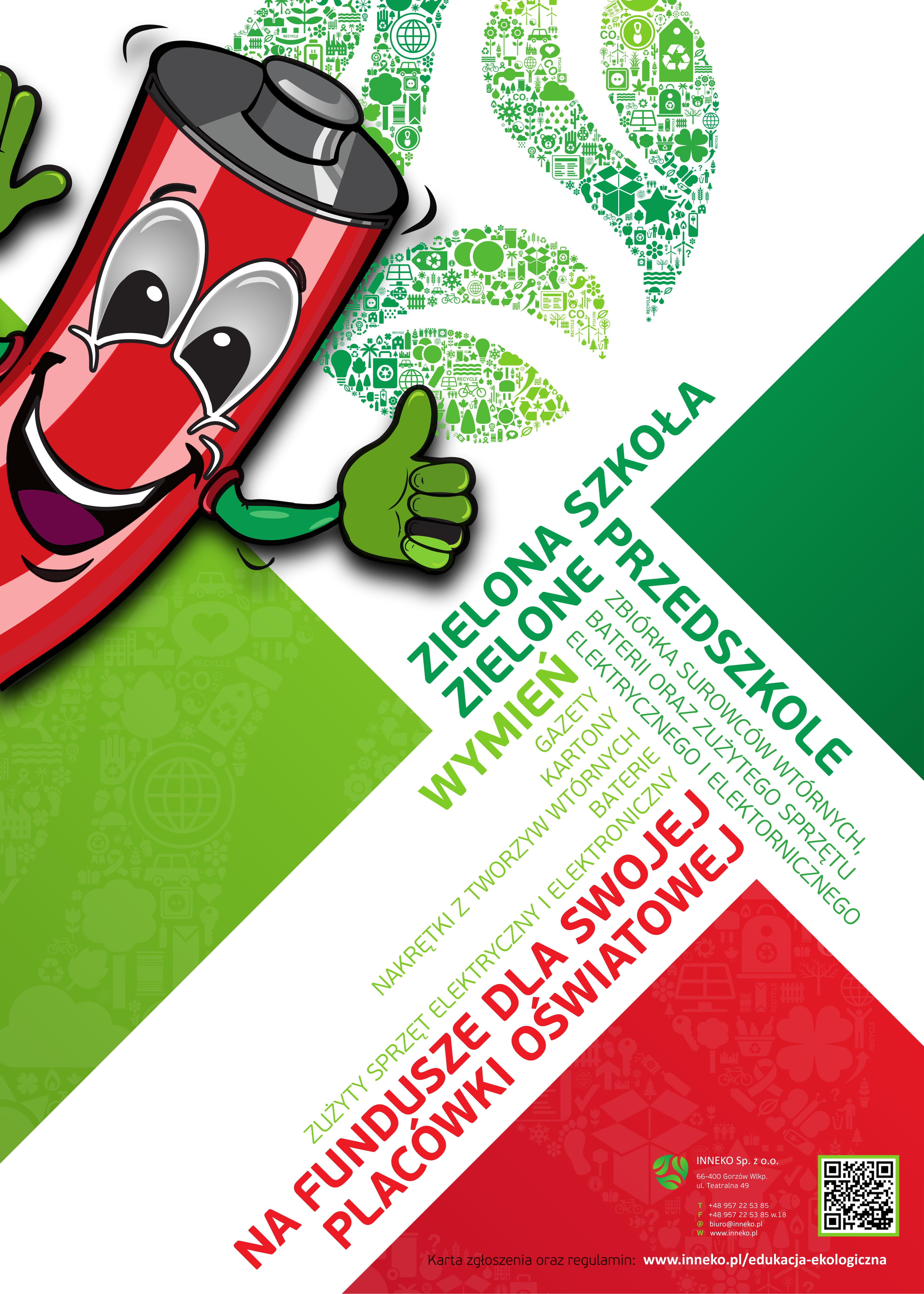Plakat Zielona Szkola 1