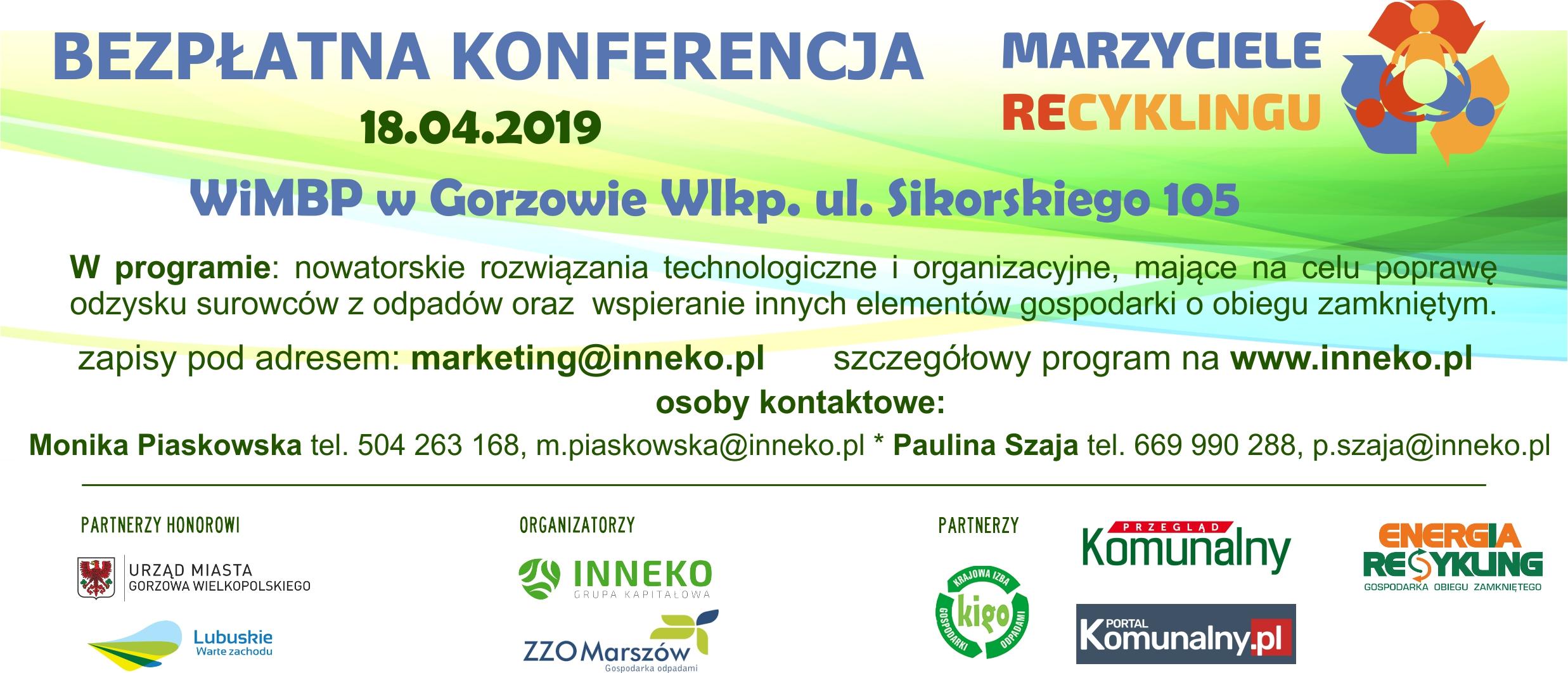 Marzyciele Recyklingu – Konferencja
