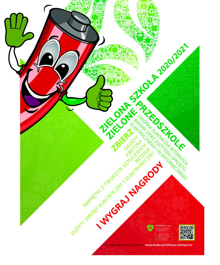 Plakat Zielona Szkola 2020 2021